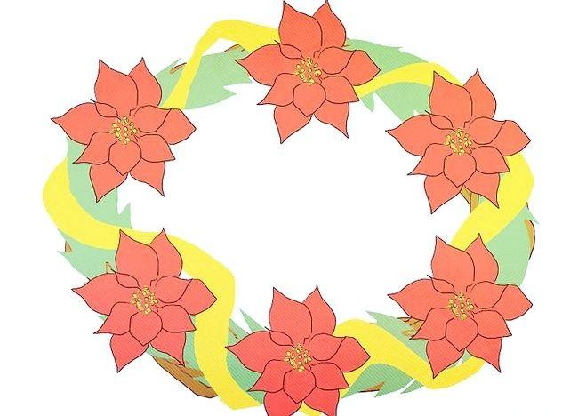 Imaginea intitulată Faceți o coroană de sărbătoare Pasul 5