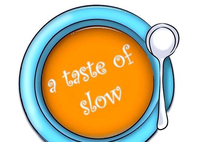 Cum să deveniți o parte a Mișcării Slow Food