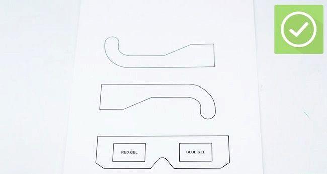 Cum sa-ti faci ochelari 3D