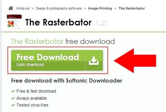 Cum să faci un poster folosind Rasterbator