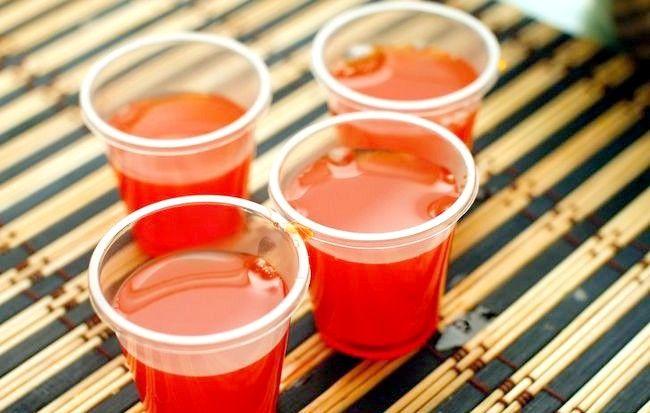 Imagine intitulată Faceți fotografii de vin roșu cu jello Pasul 3