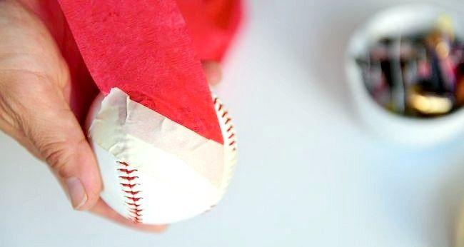 Imagine cu titlul Face o minge de Crăciun Pasul 1