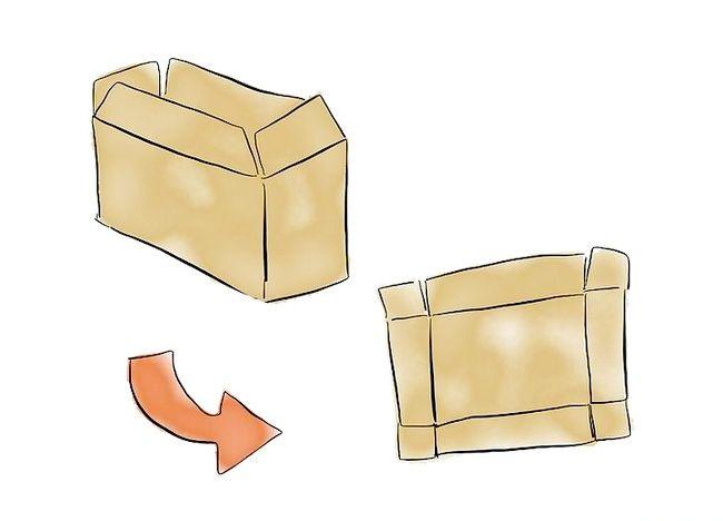 Imaginea intitulată Faceți o casetă de top pentru bere de carton