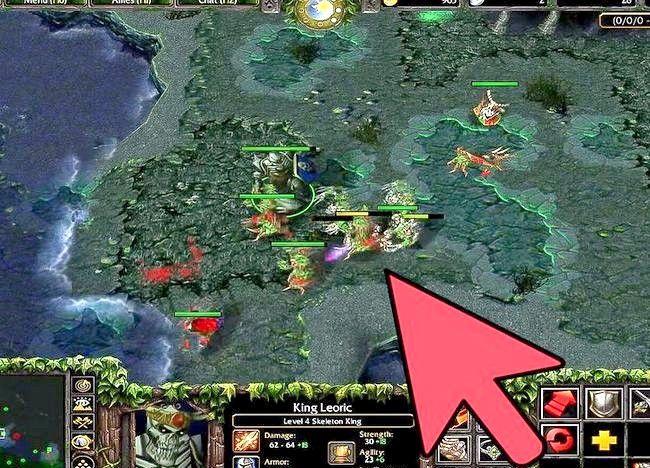 Imagine intitulată Redarea jocului Perfect DotA Pasul 7