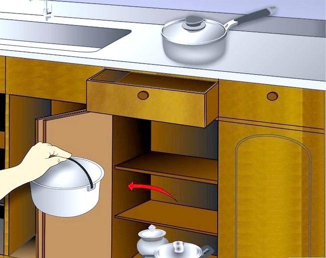 Imaginea intitulată Cabinete de bucătărie curate Pasul 1