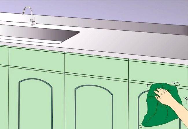 Imaginea intitulată Cabine de bucătărie curate. Pasul 11