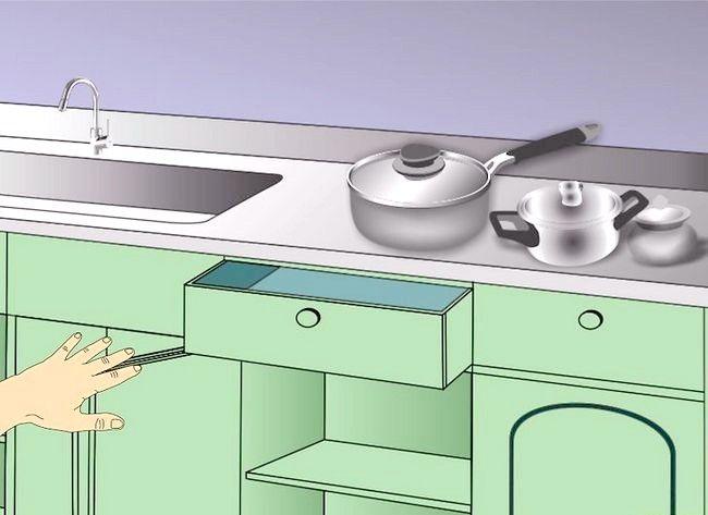 Imaginea intitulată Cabine de bucătărie curate 13