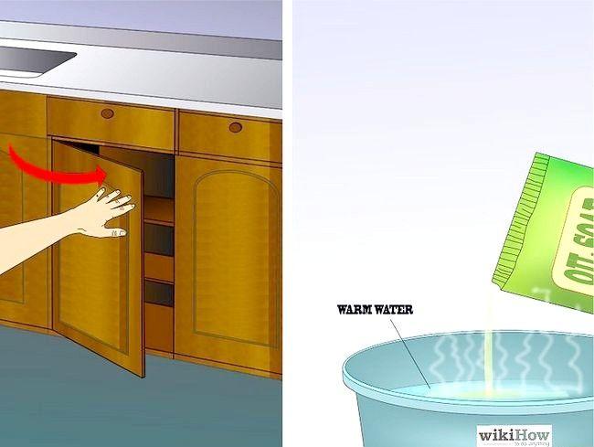 Imaginea intitulată Cabinete de bucătărie curate Pasul 3