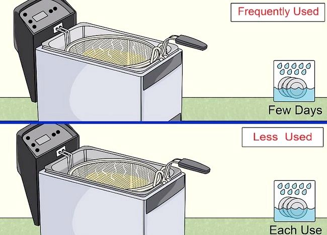 Imaginea intitulată Curățarea unei friteuze profunde Pasul 1