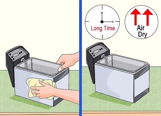 Imaginea intitulată Curățarea unei friteuze profunde Pasul 14