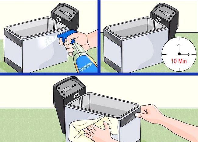 Imaginea intitulată Curățarea unei friteuze profunde Pasul 18