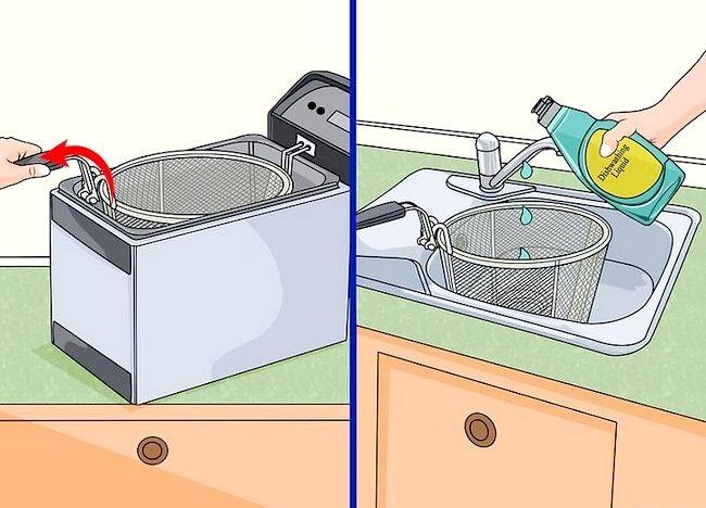 Imaginea intitulată Curățarea unei friteuze profunde Pasul 4