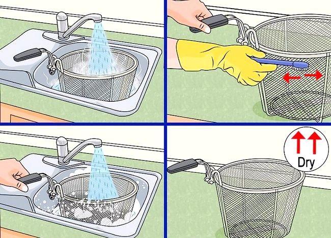 Imaginea intitulată Curățarea unei friteuze profunde Pasul 9