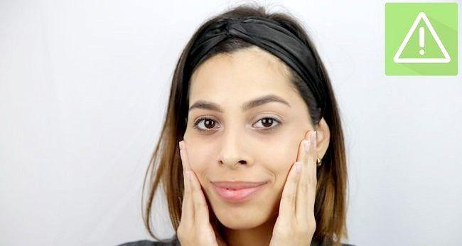Imaginea intitulată Păstrați-vă fața curată Pasul 1