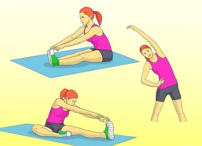Cum de a îmbunătăți exercițiul de întindere pentru a atinge piciorul