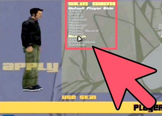 Imagine intitulată Schimbarea de skin-uri în Grand Theft Auto 3 și Vice City Step 7