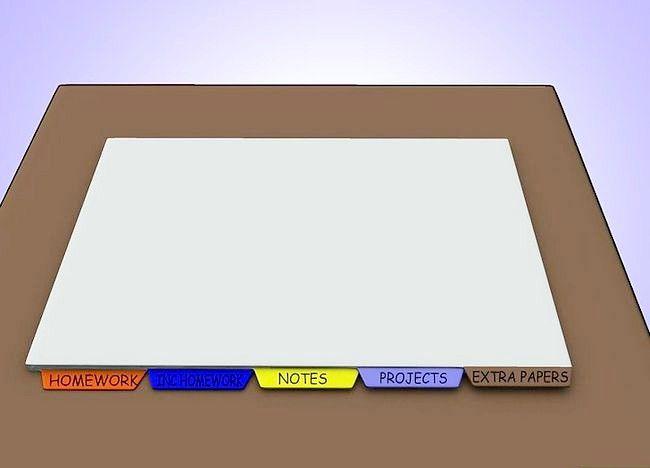 Imaginea intitulată Organizați punga, binderul și încuietoarea pasului 17