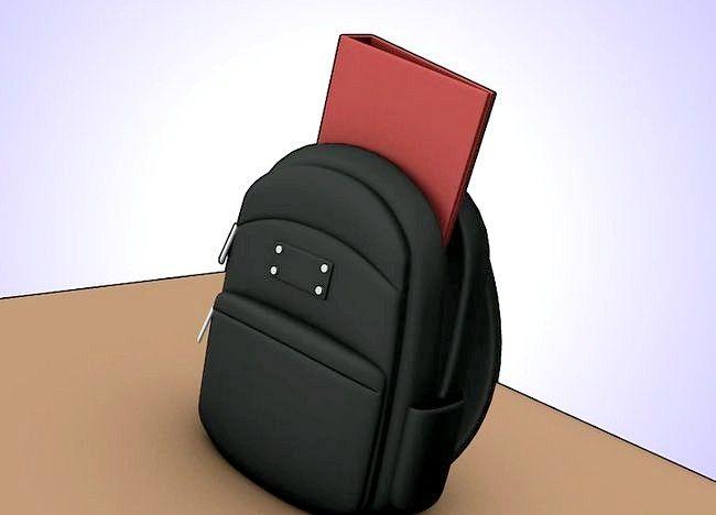Imaginea intitulată Organizați punga, binderul și încuietoarea dvs. Pasul 2