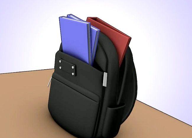 Imaginea intitulată Organizați punga, binderul și încuietoarea dvs. Pasul 3
