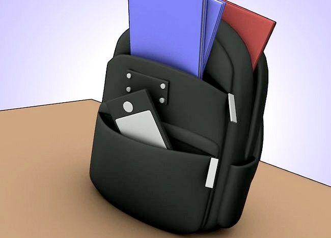 Imaginea intitulată Organizați punga, binderul și încuietoarea dvs. Pasul 4