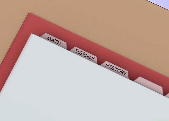 Imaginea intitulată Organizați punga, binderul și încuietoarea dvs. Pasul 8