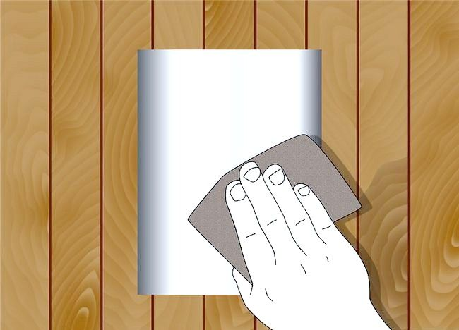 Imagine intitulată Paint Sheet Metal for Home Decorating Pasul 1