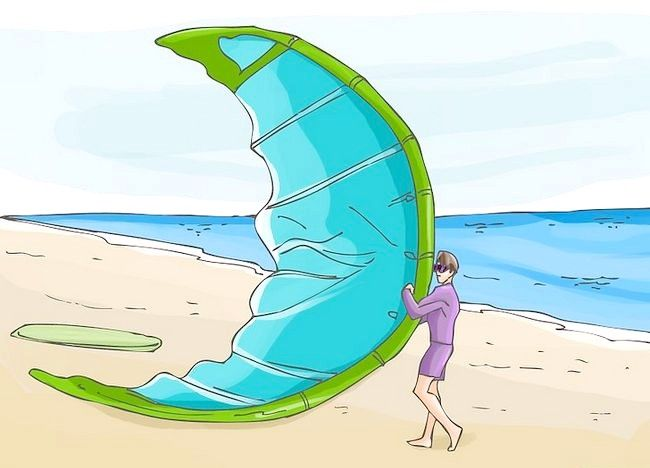 Cum să practice surfingul cu kite