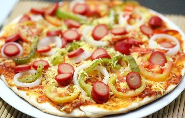 Imaginea intitulată Faceți o Intro în Pizza sănătoasă