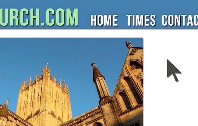 Cum de a crea un site web pentru o biserică