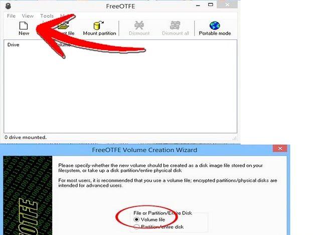 Cum de a proteja datele private de pe o unitate Pen folosind FreeOTFE