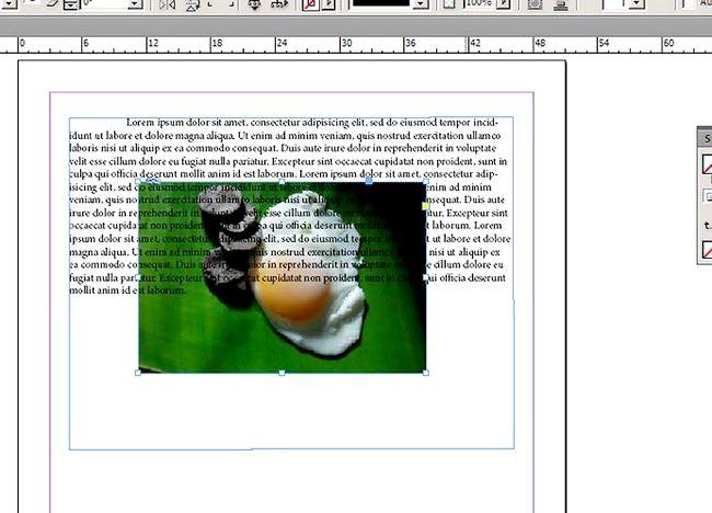 Cum se sparge textul în InDesign