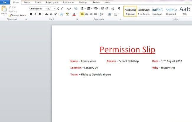 Cum se scrie un formular de autorizare
