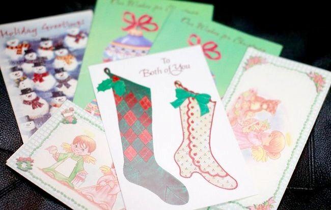 Cum să reutilizezi cardurile de Crăciun