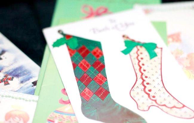Imagine intitulată Recycle Christmas Cards Step 13Bullet1