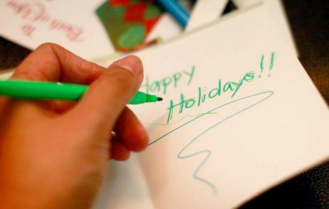 Imagine intitulată Recycle Christmas Cards Step 13Bullet5