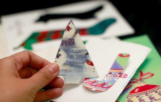 Imagine intitulată Recycle Christmas Cards Step 14Bullet2