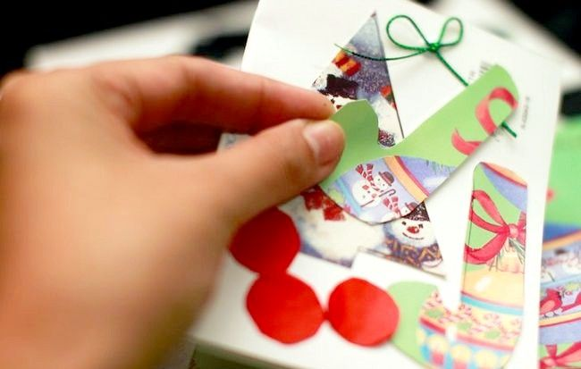 Imaginea intitulată Recycle Christmas Cards Step 14Bullet3