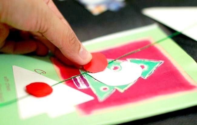 Imagine intitulată Recycle Christmas Cards Step 8