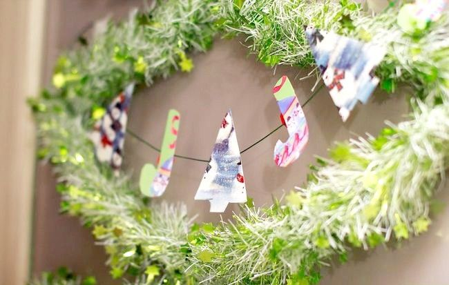 Imagine intitulată Recycle Christmas Cards Step 9