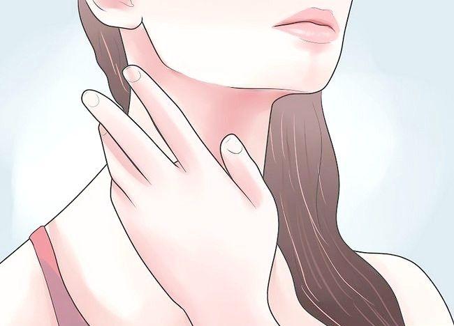 Imagine intitulată Îndepărtați bilele de stres pe gât Pasul 1