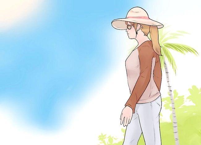 Imaginea intitulă Ridică spațiile albe pe piele din cauza otrăvirii soarelui Pasul 11