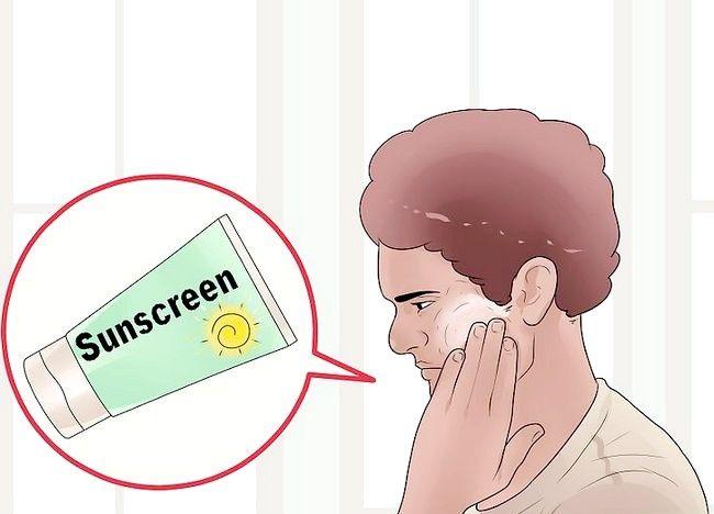 Imaginea cu titlul Îndepărtați spațiile albe pe piele din cauza otrăvirii soarelui Pasul 10