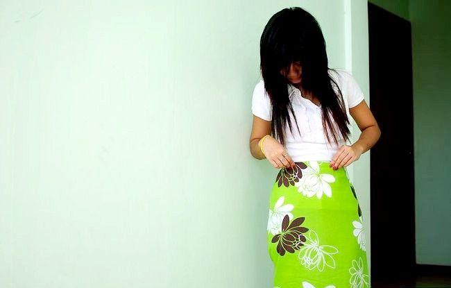 Imaginea intitulată Efectuați o rochie dintr-o foaie de bibliotecă instalată Pasul 11