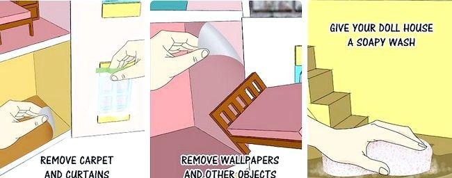 Cum de a transforma o casa de papusi intr-o colivie de hamster
