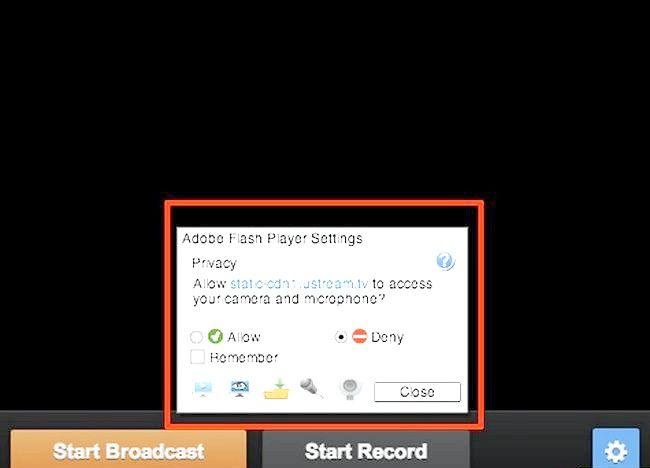 Imaginea intitulată Transmite o prezentare Web utilizând Ustream Step 3Bullet2