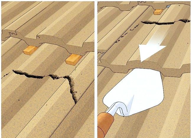 Imaginea intitulată Modificarea unei plăci de acoperiș Pasul 3