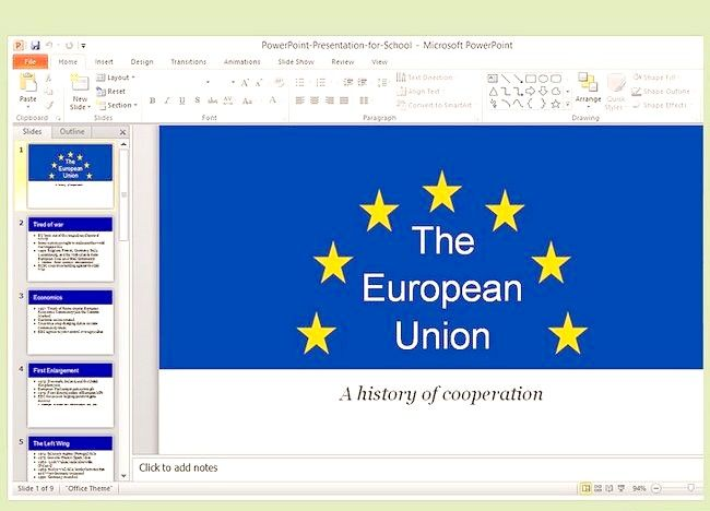 Ca o prezentare PowerPoint pentru un videoclip în MP4