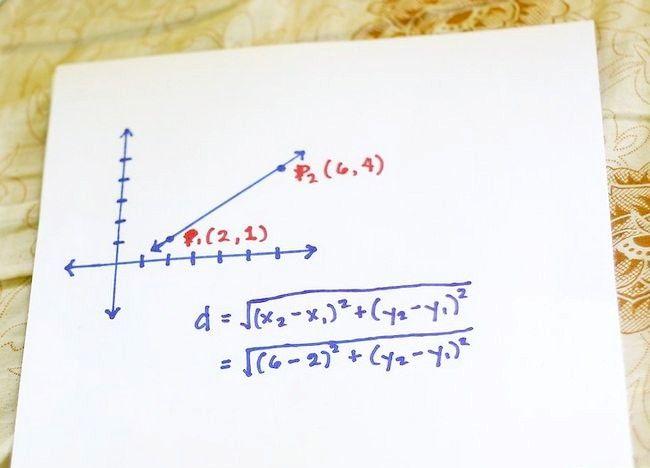 Imaginea intitulată Utilizați formula distanței pentru a găsi lungimea unei linii Pasul 3