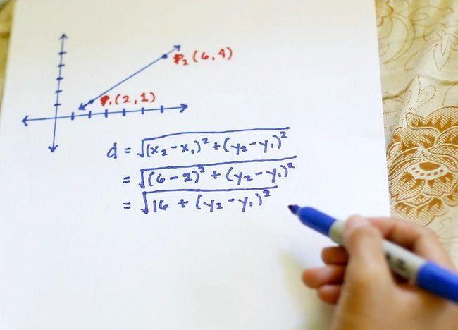Imaginea intitulată Utilizați formula distanței pentru a găsi lungimea unei linii Pasul 4