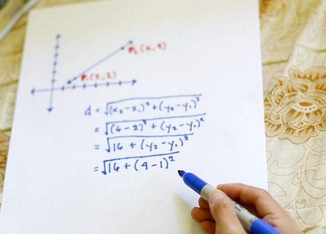 Imaginea intitulată Utilizați formula distanței pentru a afla lungimea unei linii Pasul 5
